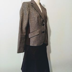 Liz Claiborne elbow patch jacket